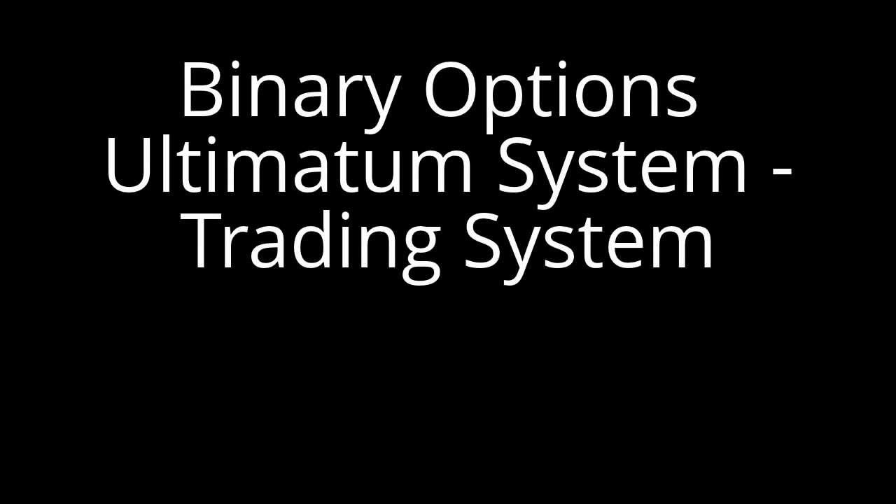 Free binary options trading system