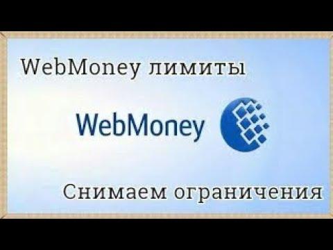 Как увеличить дневной лимит Webmoney.Webmoney лимиты.
