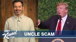 """Jimmy Kimmel's Quarantine Monologue – Trump's """"Army,"""" Mitt Romney Marches & Americans Come Together"""