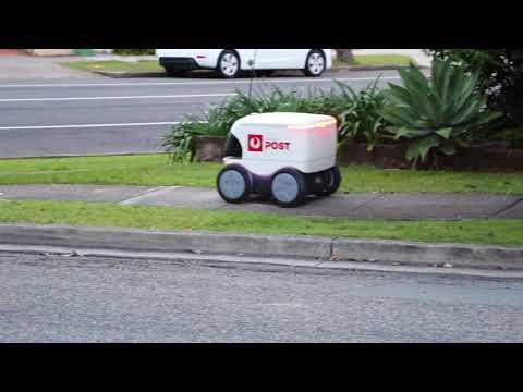Australia Post's Parcel Delivery Robot