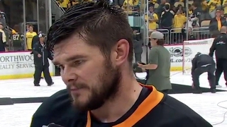 Kunitz: Predators are a fast paced team, great goalie...ready for that challenge