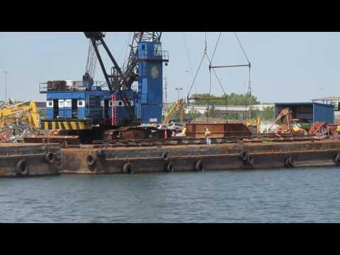 Docking a scrap ship