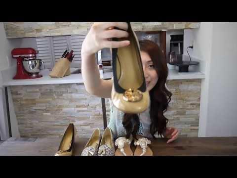 Shoes Haul/ Tory Burch Wedge, Coach MALIKA PRINT FLAT/ Mystiqul flat sandals
