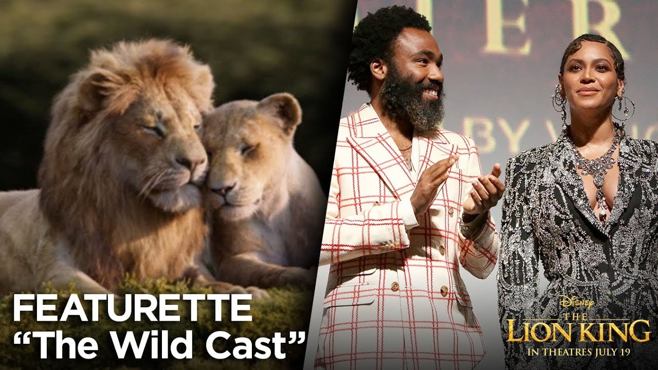 The Wild Cast Featurette The Lion King