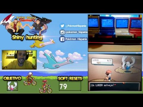 SHINY HUNTING LUGIA OFICIAL EMIGRANTE DE MARFIL [Pokémon Hispania]