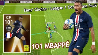 Review Faster CF 101 Rating MBAPPÉ - Pes 2020 Mobile