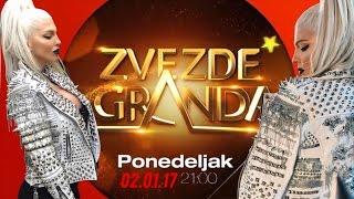 JELENA KARLEUSA // najava: ZVEZDE GRANDA / 02.01.17