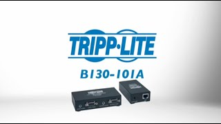 B130-101A VGA plus Audio over Cat5 Extender Kit by Tripp Lite