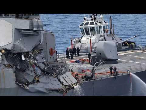 Investigators' Task to Find Out Why USS Fitzgerald Failed to Dodge Cargo Ship
