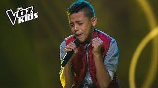 Kevin canta Volver, Volver - Audiciones a ciegas | La Voz Kids Colombia 2018