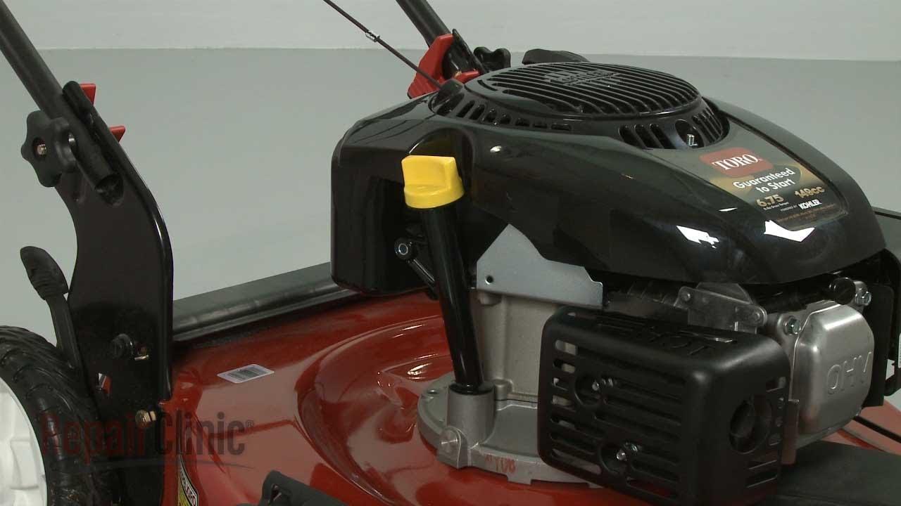 Kohler Lawn Mower Oil Dipstick Tube Replacement #14 123 20