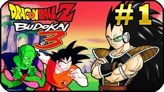 Dragon Ball Z Budokai 3 HD Collection Modo Historia Parte 1 Saga Saiyajin