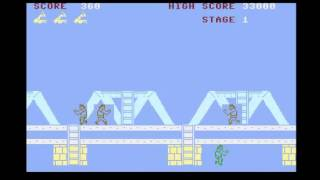 Possibly The Worse Game Ever - Green Beret - Commodore Plus 4