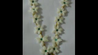 Craft ideas - Cotton garland  Varalakshmi Vratham decoration | Navratri | Janmashtami  | Ganesh Puja