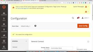 Magento2 Contact Emails Setting