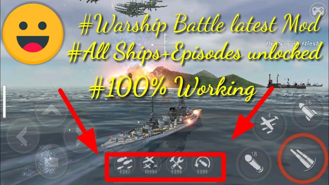 Warship battle Latest Mod apk