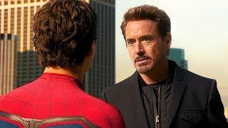 Тони Старк забирает у Питера костюм / Человек-паук: Возвращение домой (2017)