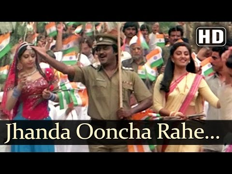 Jhanda Ooncha Rahe Hamara - Farishtay (1991) Songs - Dharmendra, Vinod Khanna - Bappi-Lahiri Hits