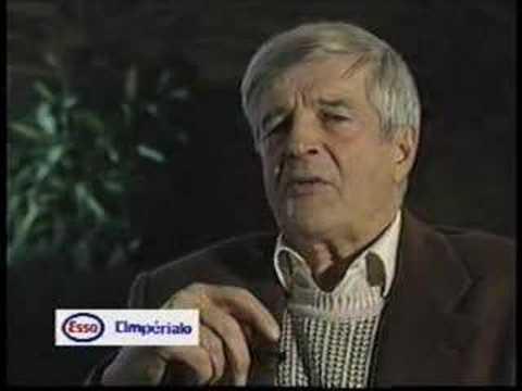 Gilles Pelletier lors de l'intronisation au Panthéon du sport