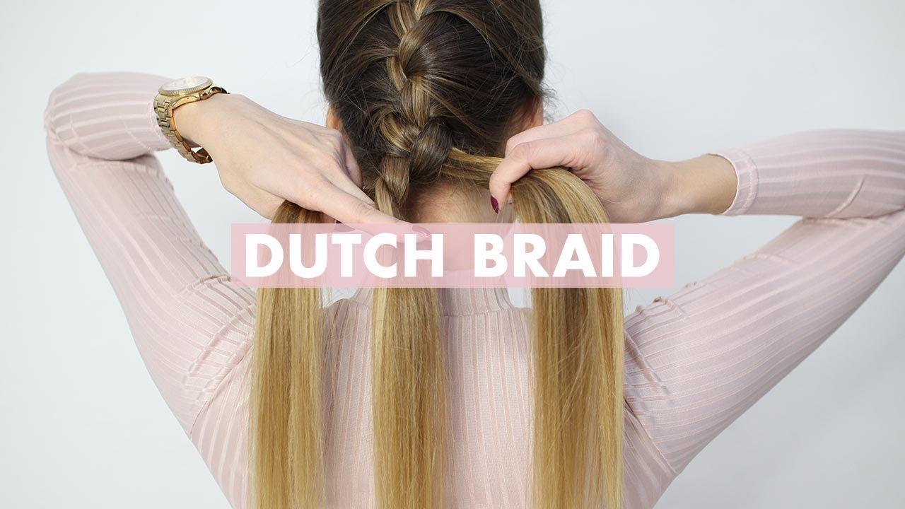 How To Dutch Braid: Hair Tutorial For Beginners