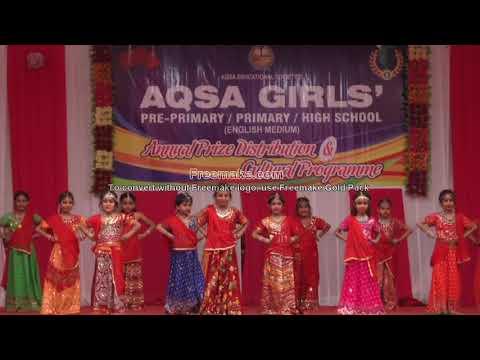 Aqsa school bhiwandi Khadija Irfan momin dance 2018 school function