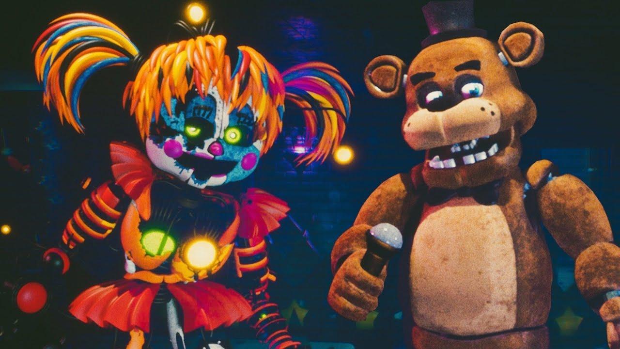 """SOY SCRAP BABY & FREDDY - Five Nights at Freddy's Simulator """"Nueva Actualización"""" (FNAF Game)"""