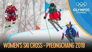 Women's Ski Cross Finals - Freestyle Skiing   PyeongChang 2018 Replays