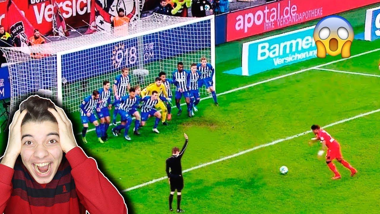 Photo of اجمل الاهداف النادرة التي من المستحيل ان تتكرر في كرة القدم – خارقين للطبيعة 😱🔞🔥 !!! – الرياضة