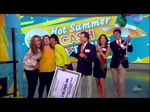 Summer Cash Sweepstakes, Day 4 | The View