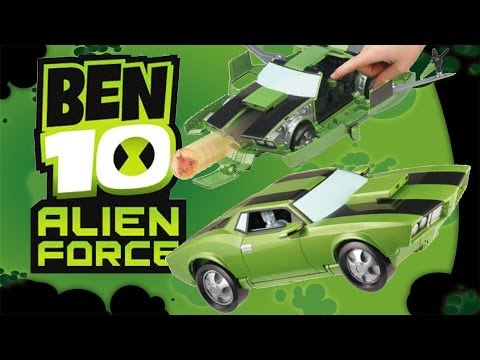 Ben 10: Kevin Levin's Action Cruiser Toy Review