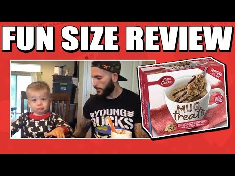 Fun Size Review: Betty Crocker's Soft Baked Chocolate Chip Cookie Mug Treats