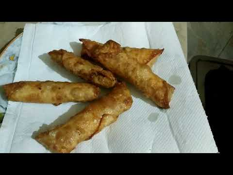 Chinese Spring Rolls |chicken Vegetable Rolls| |easy Method|  Recipe In Urdu /hindi