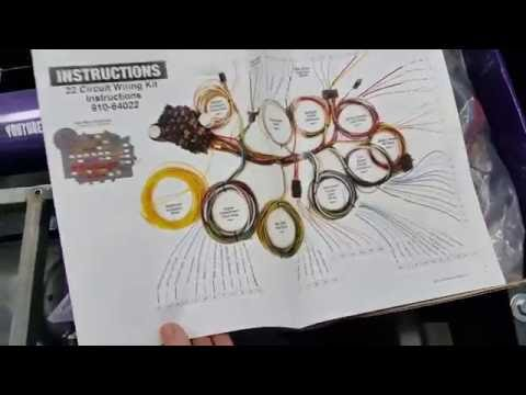 Speedway 22 Circuit Wiring Harness Unboxing Overview