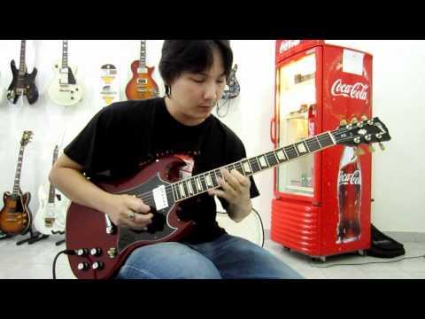 GIBSON SG STANDARD 2011 GUITAR DRIVE SOUND