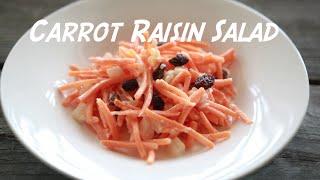 Carrot Raisin Salad - Bolthealth