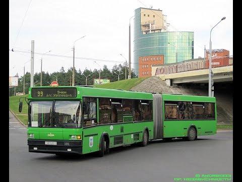 Автобус Минска МАЗ-105.065, гос.№ АВ 5357-7, марш.29 (16.08.2019)