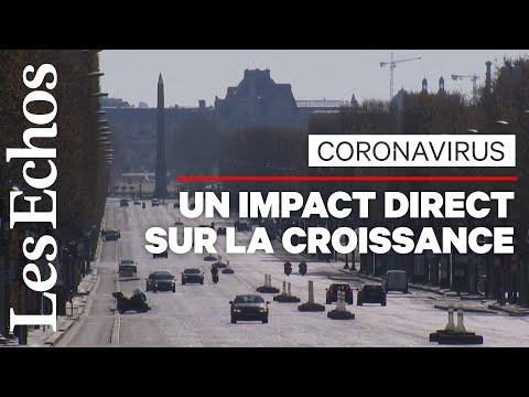 Le coronavirus entraîne un choc économique violent