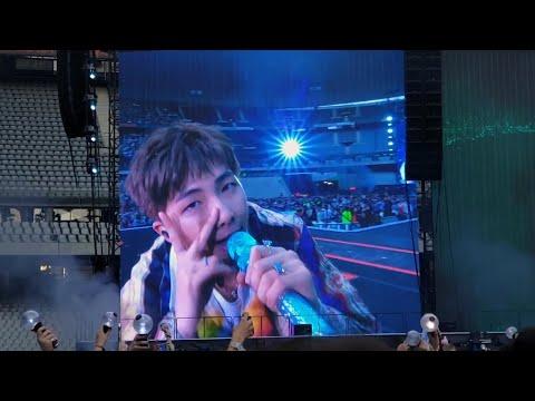 190608 Trivia: Love RM Namjoon @ BTS 방탄소년단 Speak Yourself Stade De France Paris Concert Live Fancam