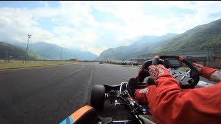 GoPro HD:  Go Kart Italy with Francesco Vidrih