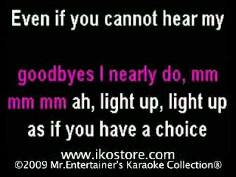 Leona Lewis -Run Karaoke