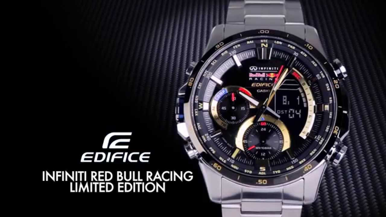 Edifice Era 300rb Infiniti Red Bull Racing Edition Youtube
