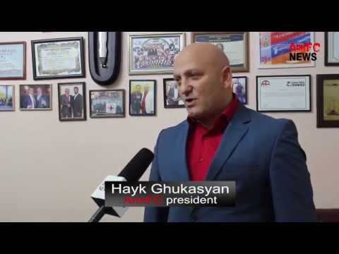 Interview ArmFC president Hayk Ghukasyan of ArmFC-19 Championship HD
