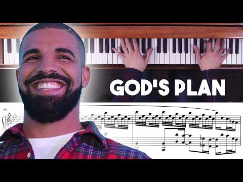 Drake - God's Plan Advanced Piano Cover With Sheet Music