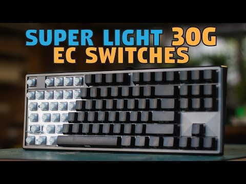 NiZ EC87 Chopin Electrostatic Capacitive 30g Keyboard - Unboxing & Review
