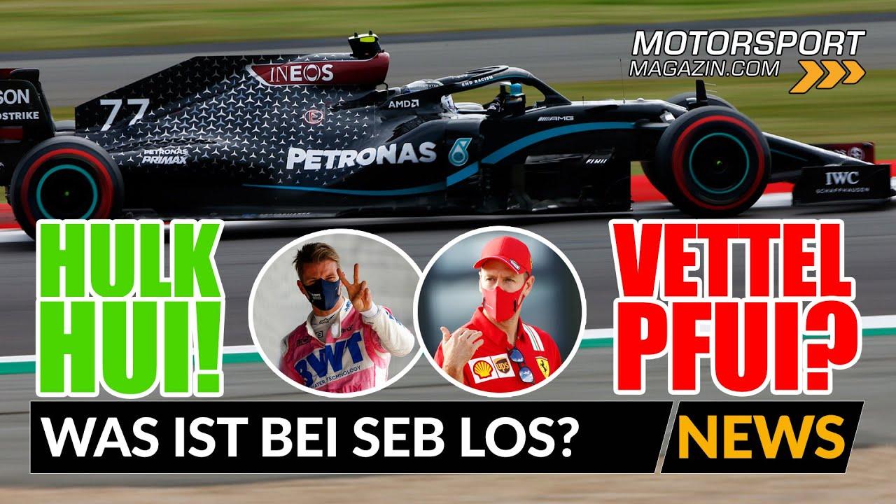 Hülkenberg hängt Vettel ab! Was ist bei Seb los?