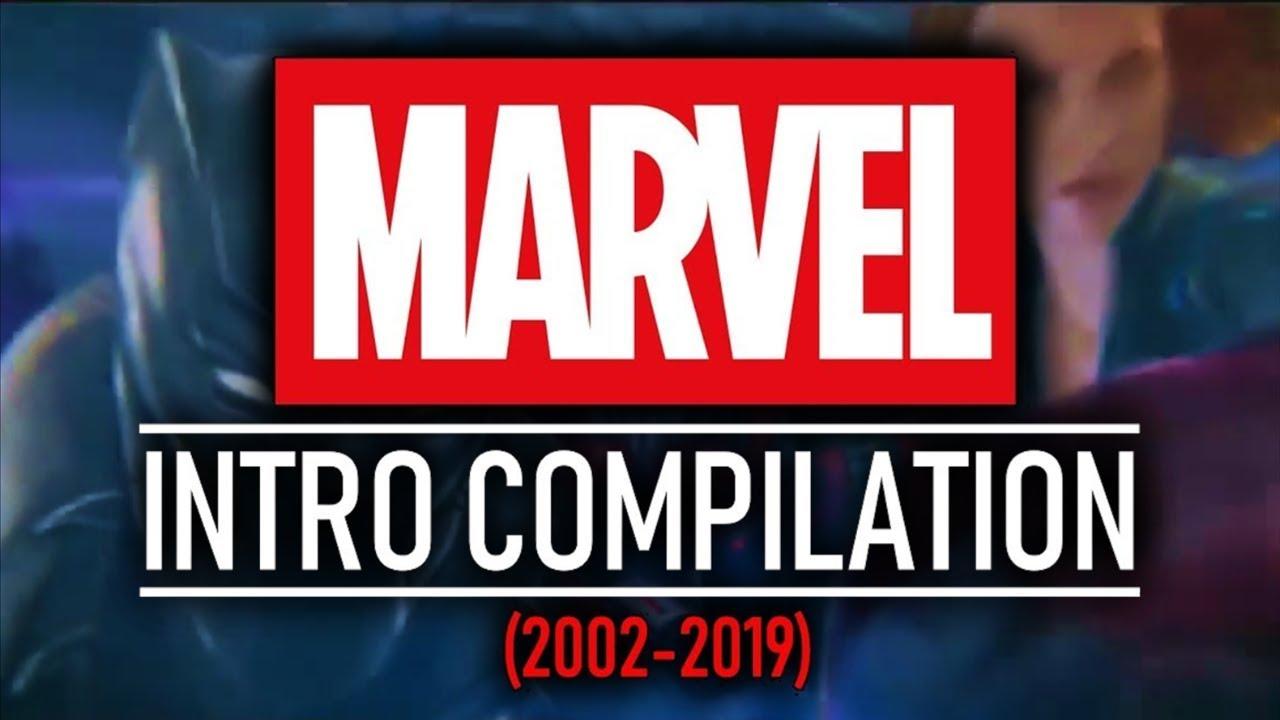 EVERY MARVEL / MCU INTRO (2002-2019) (Including Captain Marvel & Avengers:  Endgame Opening Scene)