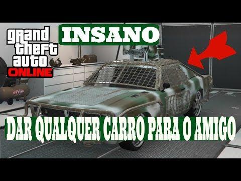 Gta V Online -  URGENTY MÉTODO PARA DOAR QUALQUER CARROS PARA O AMIGO X INCLUSIVE  CARROS DA DLC