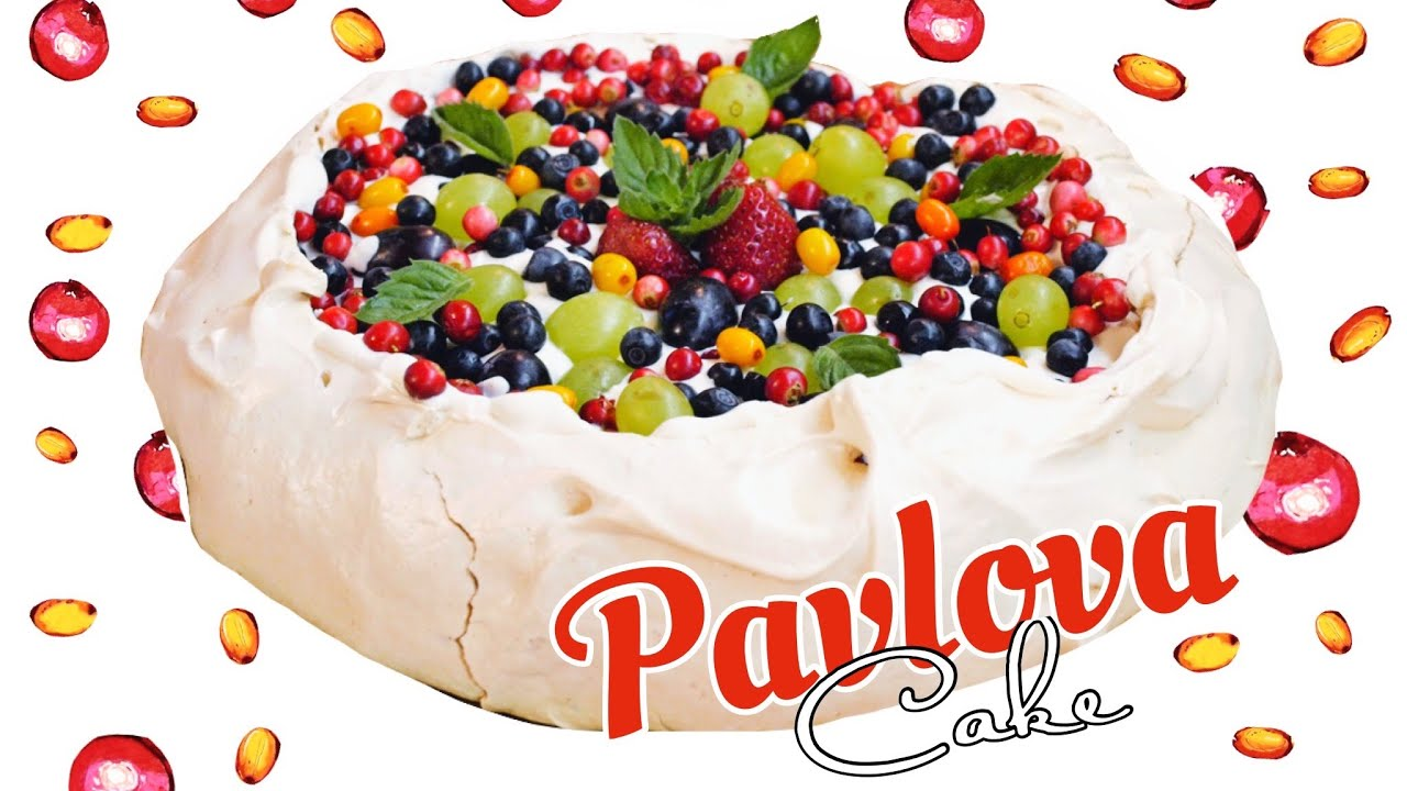 ? Торт-безе Анна Павлова / Pavlova cake recipe ♡ English subtitles