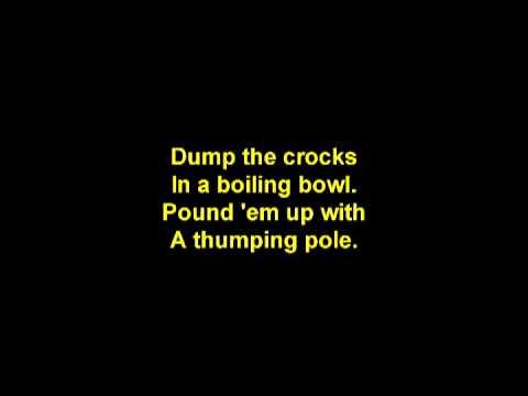 Blunt the Knives w Lyrics