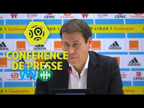 Conférence de presse Olympique de Marseille - AS Saint-Etienne (3-0) / 2017-18